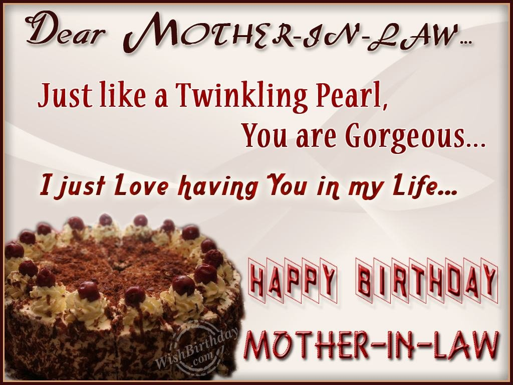 Happy Birthday Quotes For Daughter ~ 21 happy birthday message for mother in law from daughter images
