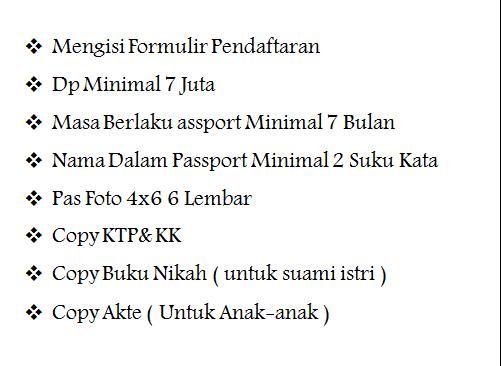 Syarat Daftar Paket Umroh Ramadhan 2020