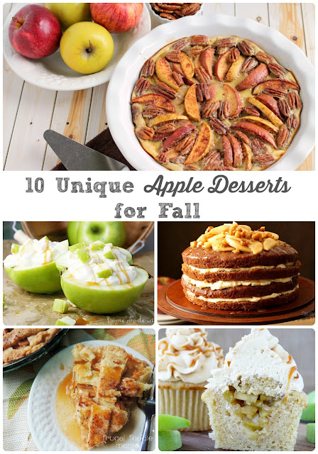 Whether you are looking to get out of that apple recipe rut or are looking for an apple dessert that is sure to wow, then this collection of 10 Unique Apple Desserts for Fall is definitely for you.