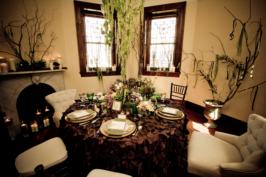 De Lovely Affair: Decorating With Upscale Natural Elements
