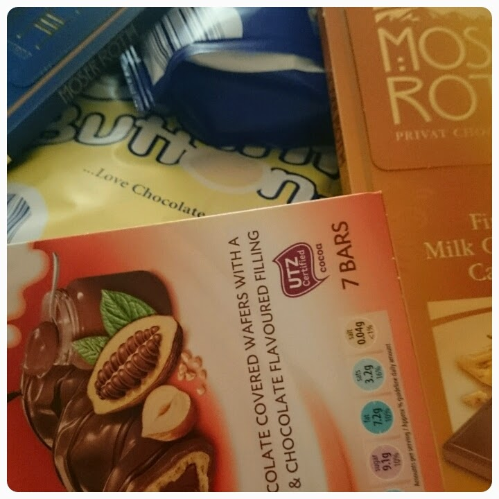 aldi chocolate range