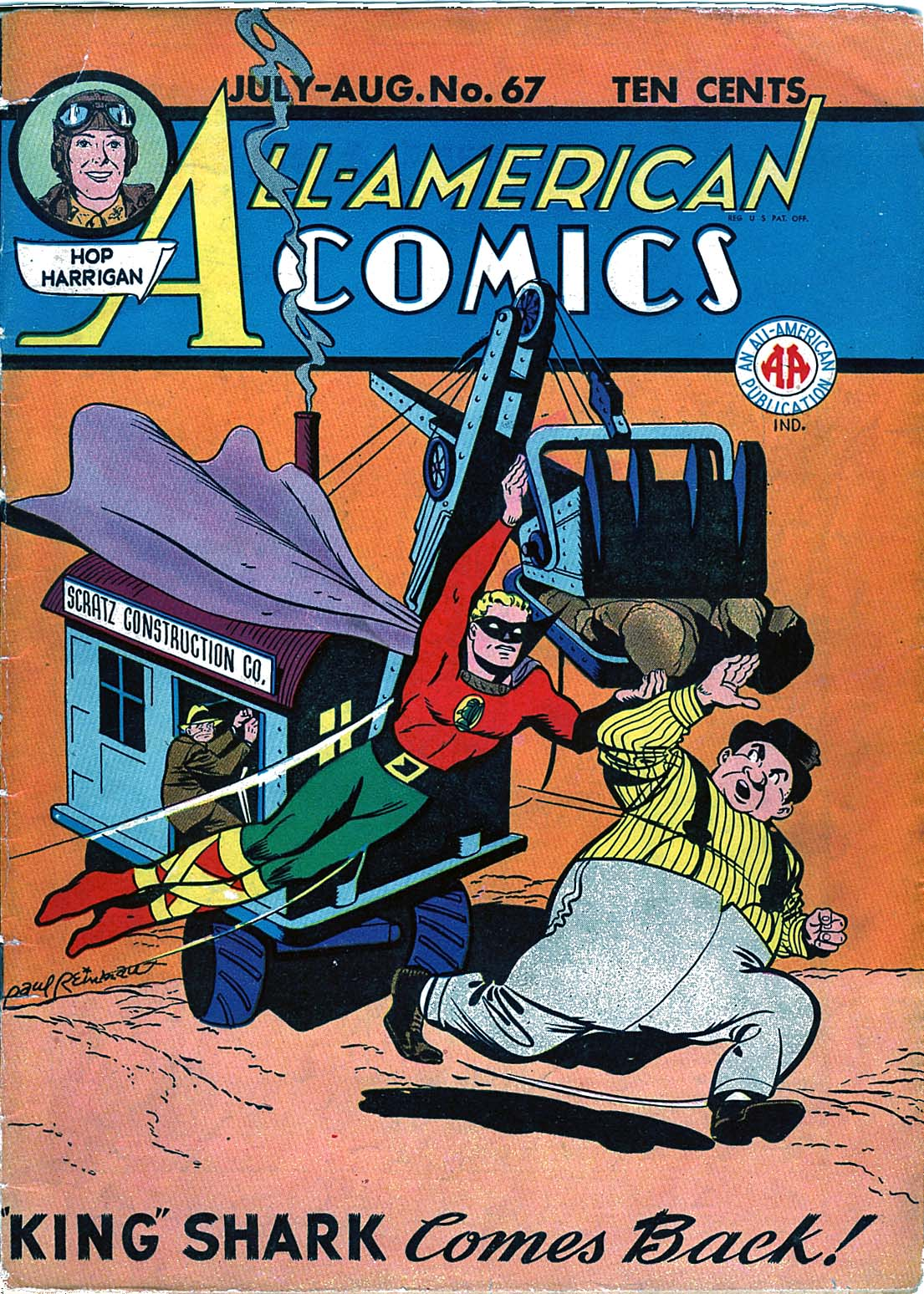 Read online All-American Comics (1939) comic -  Issue #67 - 1