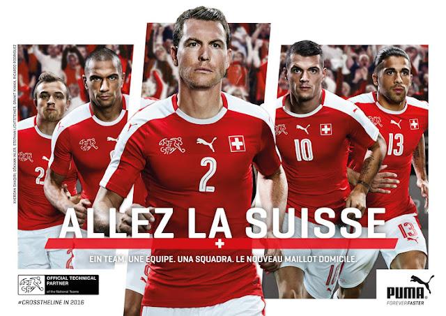 Jersey Swiss EURO 2016