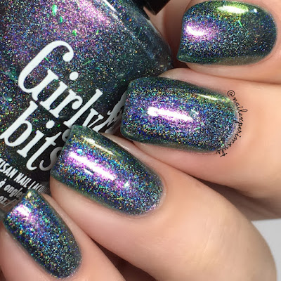 Girly Bits I Shift You Not March 2018 COTM swatches