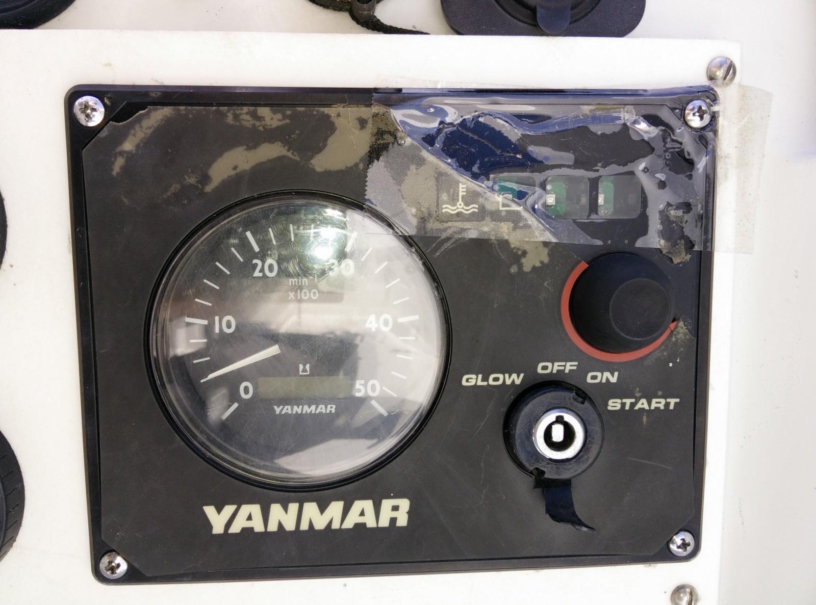 S-V Madeleine - an O'day 302 saga: Yanmar 129271-91120