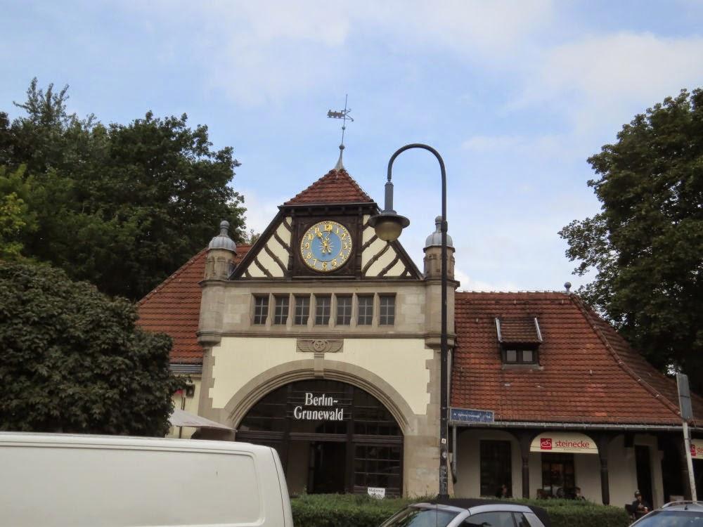 חזית תחנת הרכבת גרונהוולד