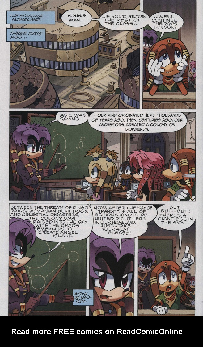 Read online Sonic The Hedgehog comic -  Issue #243 - 4
