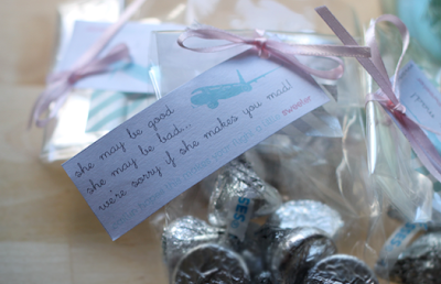 Cake's In-Flight Airplane Favor Printables