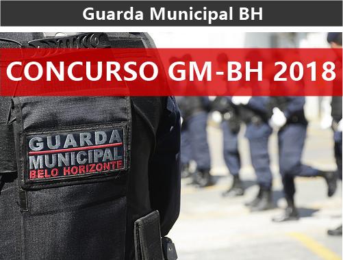 Concurso Guarda Municipal de BH - GMBH 2018