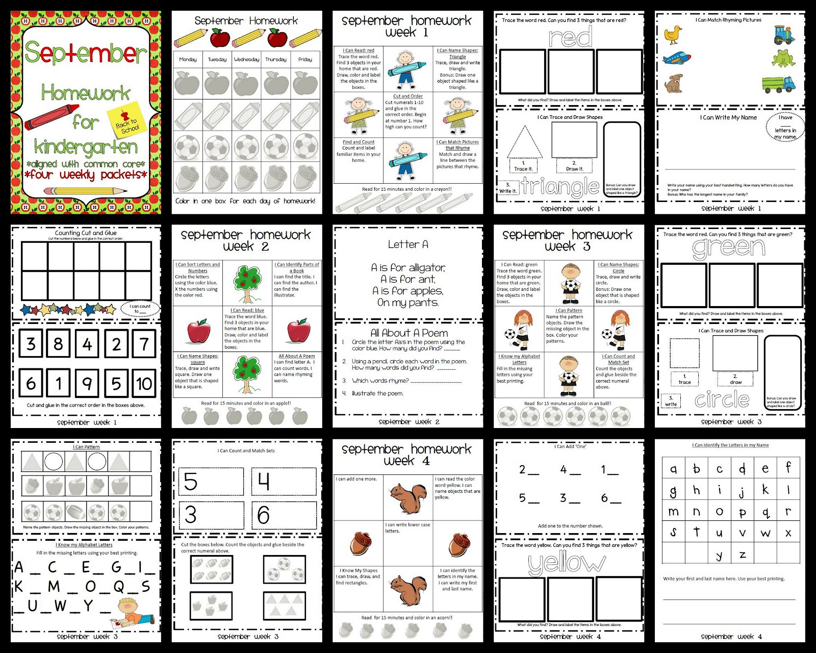 Back To School In Pictures September Freebie Amp Twitter Linky Party