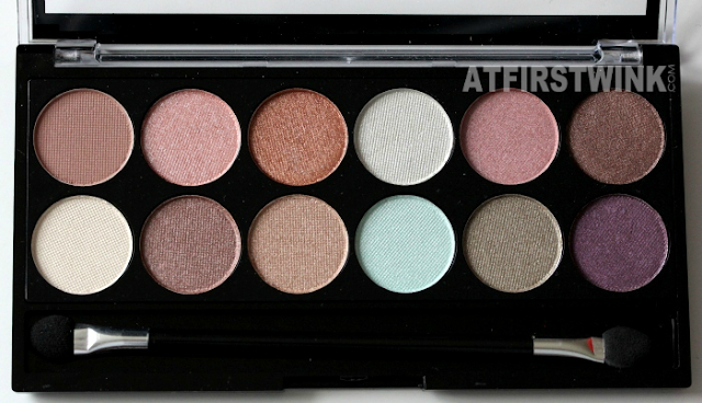 MUA (makeup academy) eyeshadow palette - Spring Break shades