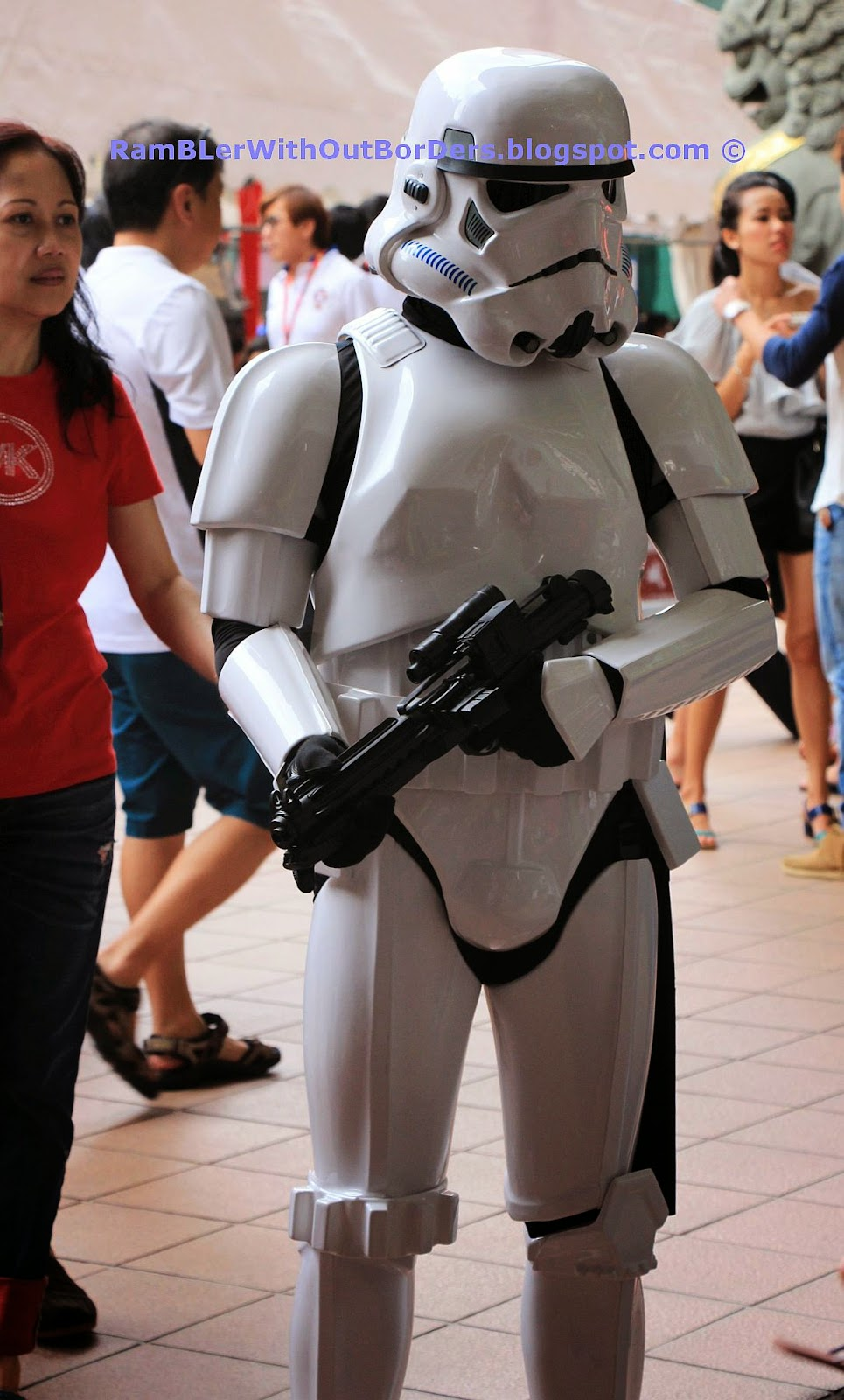 Star Wars Stormtrooper, Singapore International Red Cross Bazaar 2015