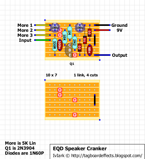 Guitar FX Layouts: EarthQuaker Devices Speaker Cranker