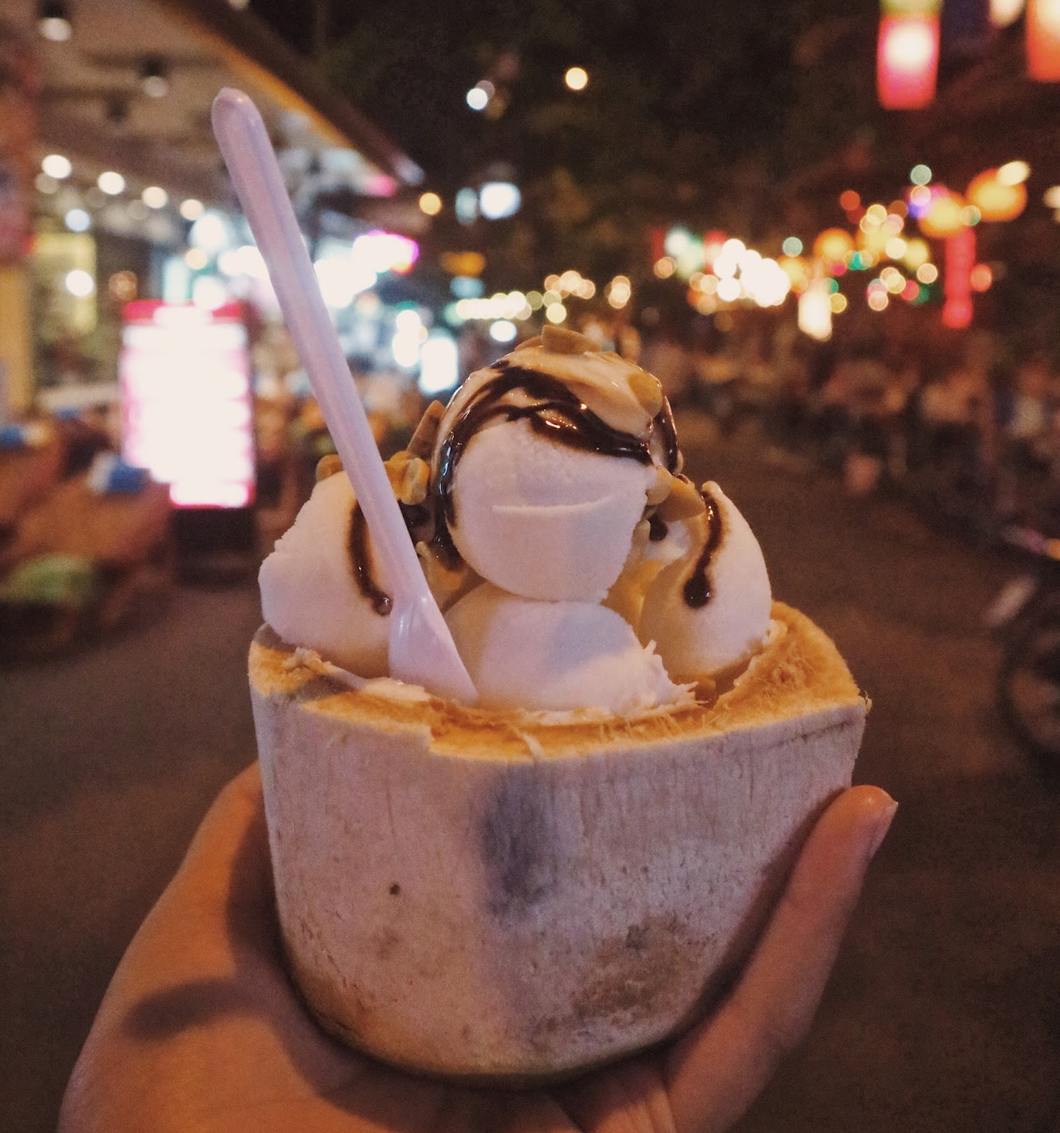 Khao San Road - coconut ice cream