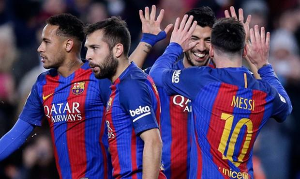 Con Leo Messi espléndido Barcelona ganó 4-1 a Espanyol por Liga Santander