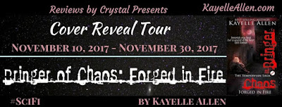 Blog Tour and Author Interview for Bringer of Chaos: Forged in Fire