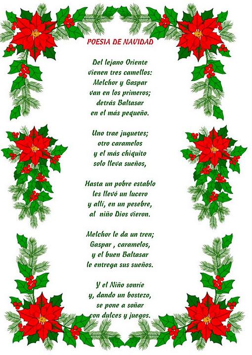 Recursos Infantiles: Poemas de Navidad