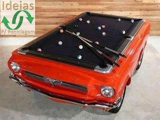 Reciclagem de carro 10 idéias incríveis