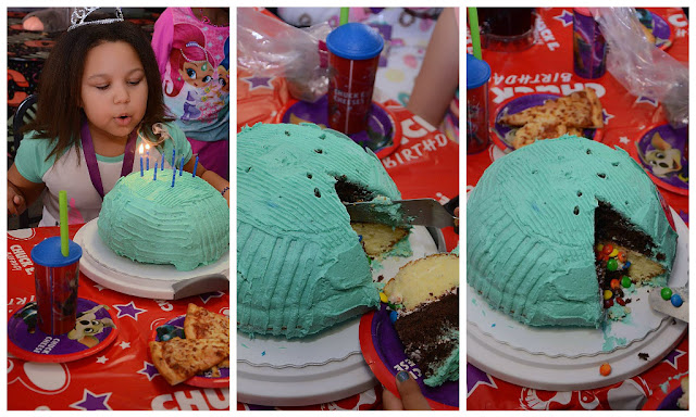 Surprise cake  #ChuckECheeseParty