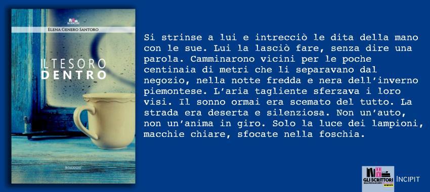 Il tesoro dentro, di Elena Genero Santoro: incipit
