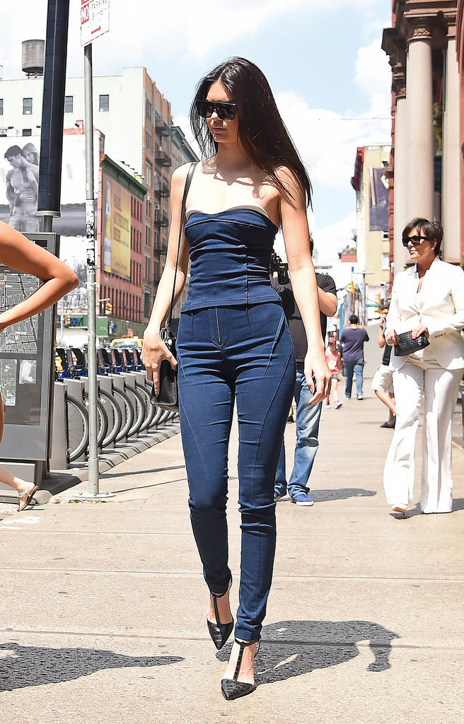 Her Idea Sexy Tight Denim Jumpsuit - Traditional Outfits Around The World