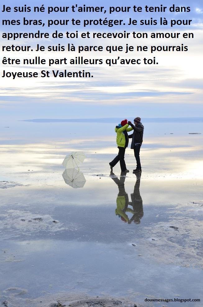 Message pour saint valentin messages doux - Image saint valentin romantique ...