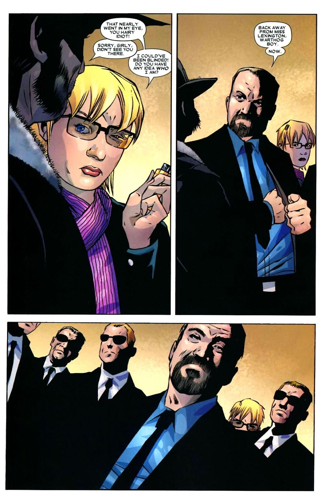 Read online Wolverine (2003) comic -  Issue #49 - 5