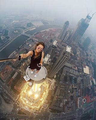 Russian daredevil-Angela Nikolau deadliest, riskies selfies