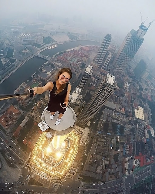 Russian daredevil-Angela Nikolau deadliest, riskies selfies