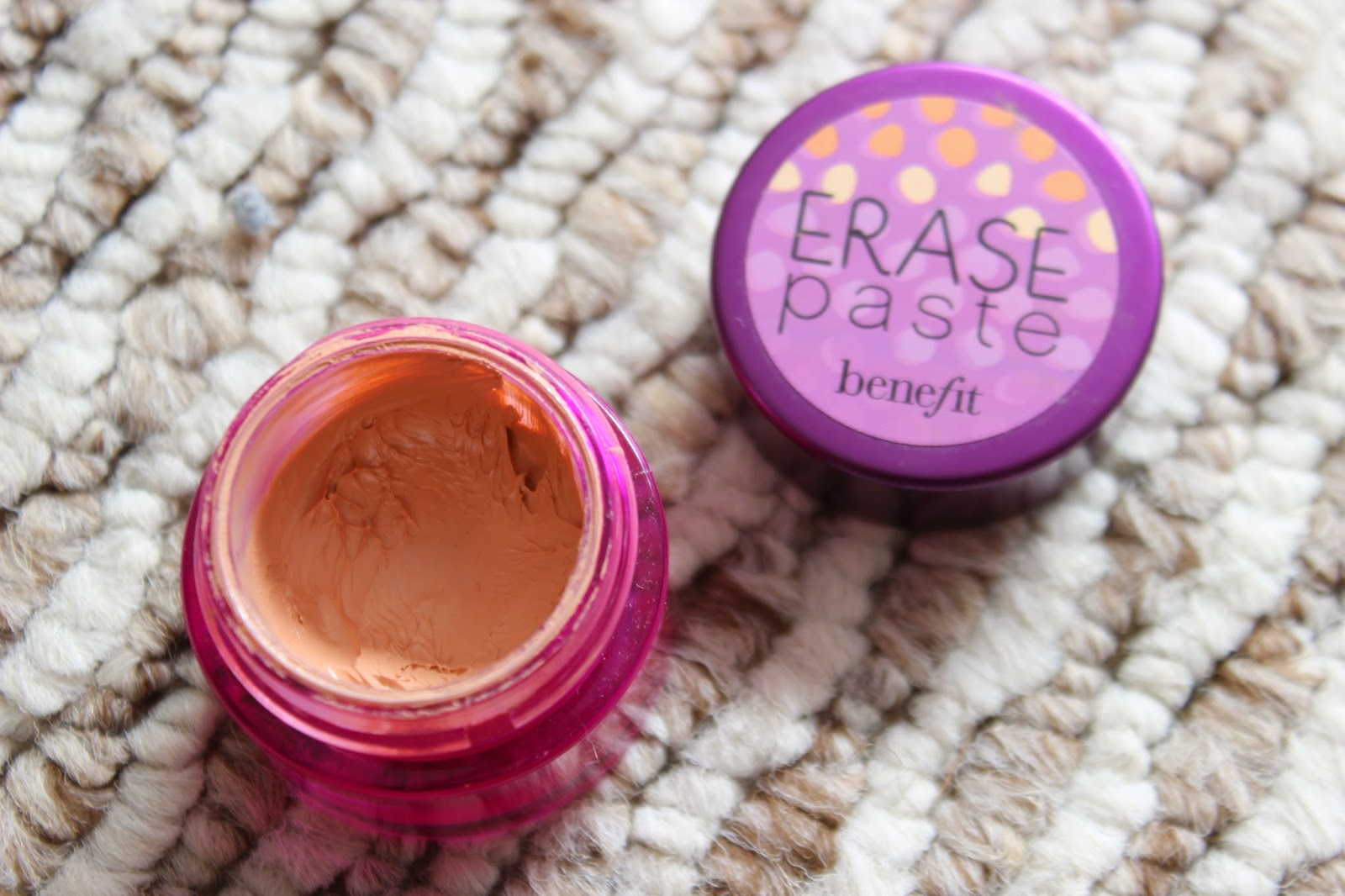 Benefit Erase Paste // Review & Swatches
