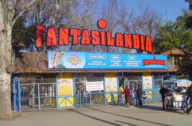 Parque de diversões Fantasilandia em Santiago do Chile