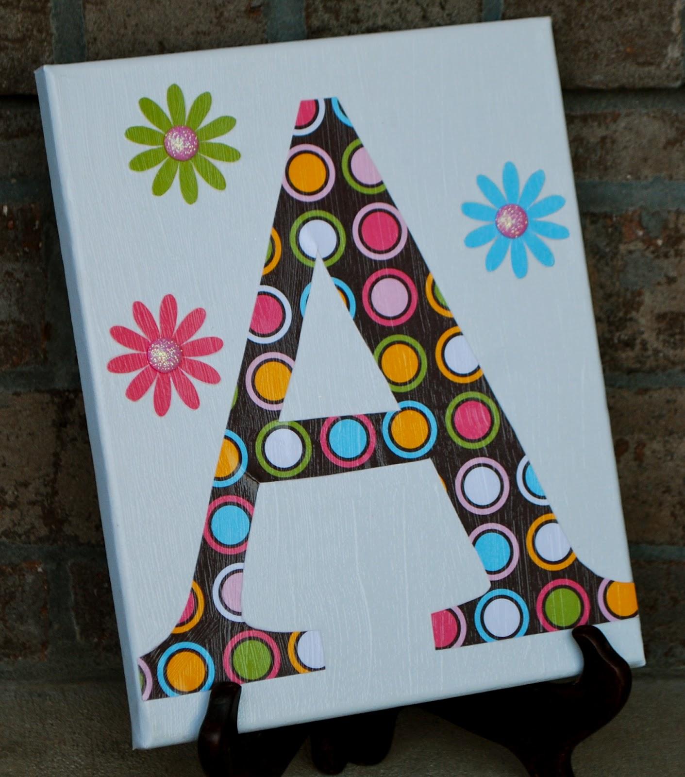 Mod Podge Canvas Projects - Amanda Jane Brown