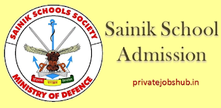 Sainik School Admission