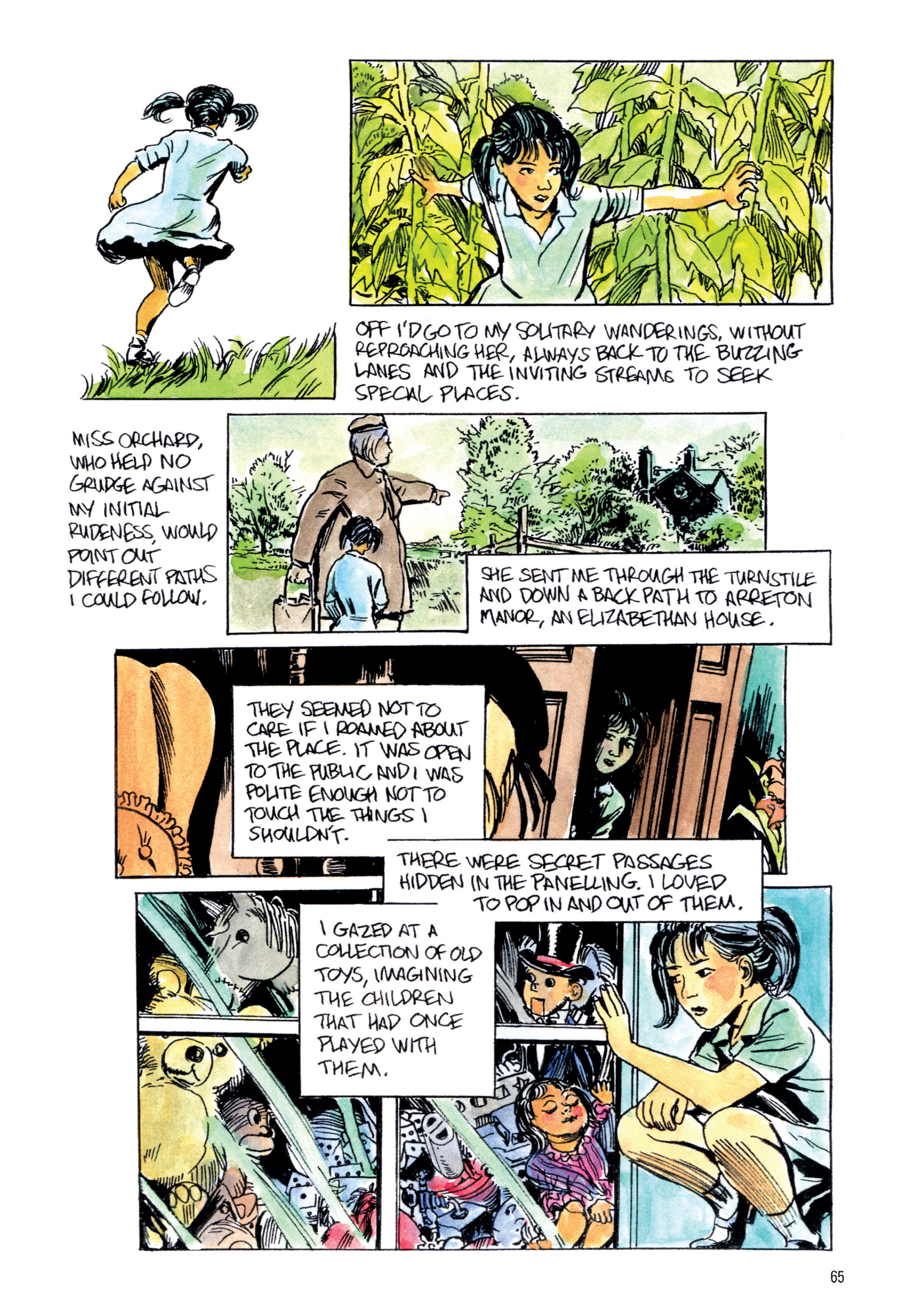 Read online The Late Child and Other Animals comic -  Issue #1 - 62