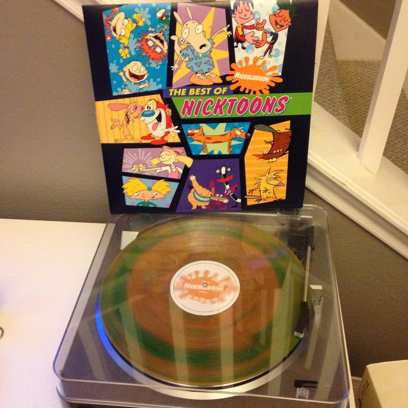 NickALive!: Man Has Epic Nickelodeon-Themed Throwback