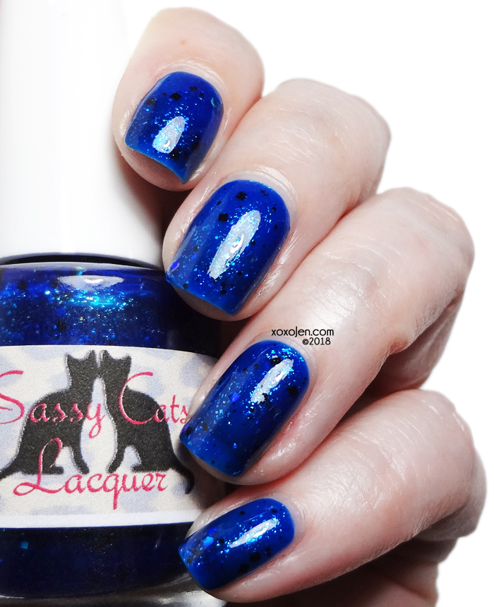 xoxoJen's swatch of Sassy Cats Sacred Artistry