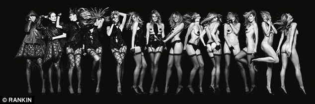 1b - Heidi Klum goes completely nude in new photography book