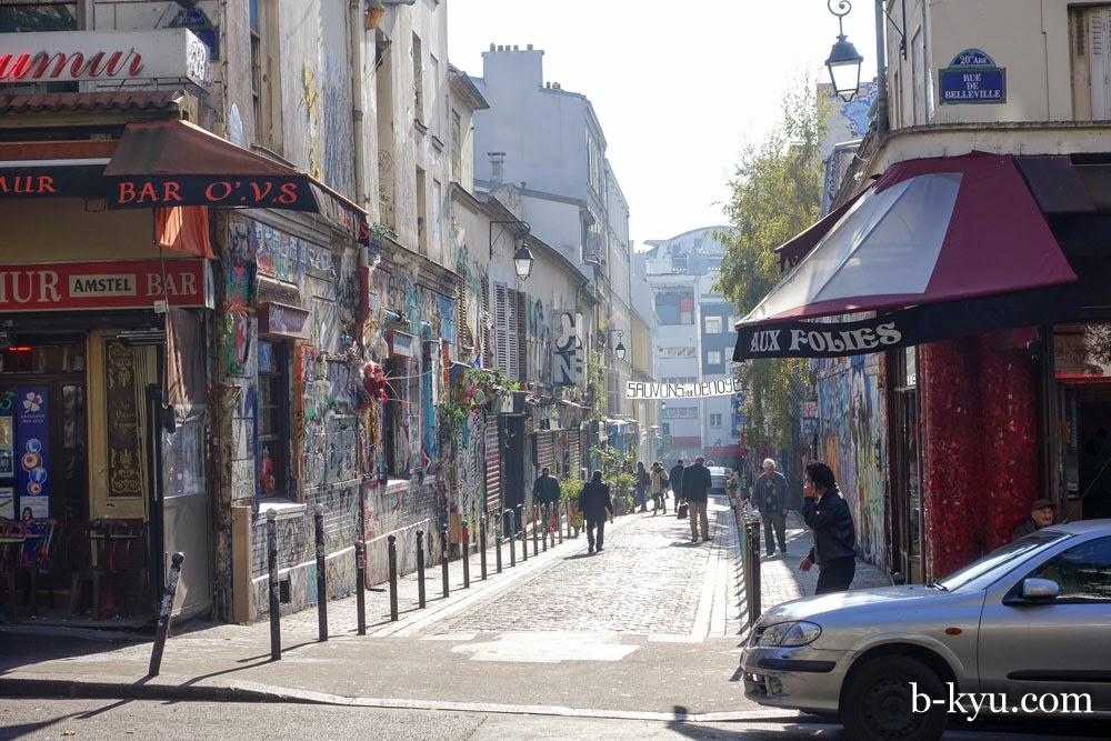 Belleville Paris Restaurants