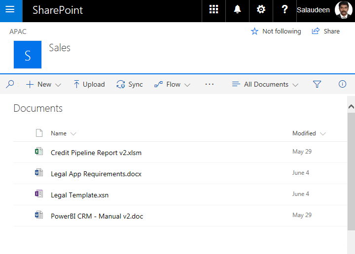 Salaudeen rajack39s sharepoint diary for Document library experience