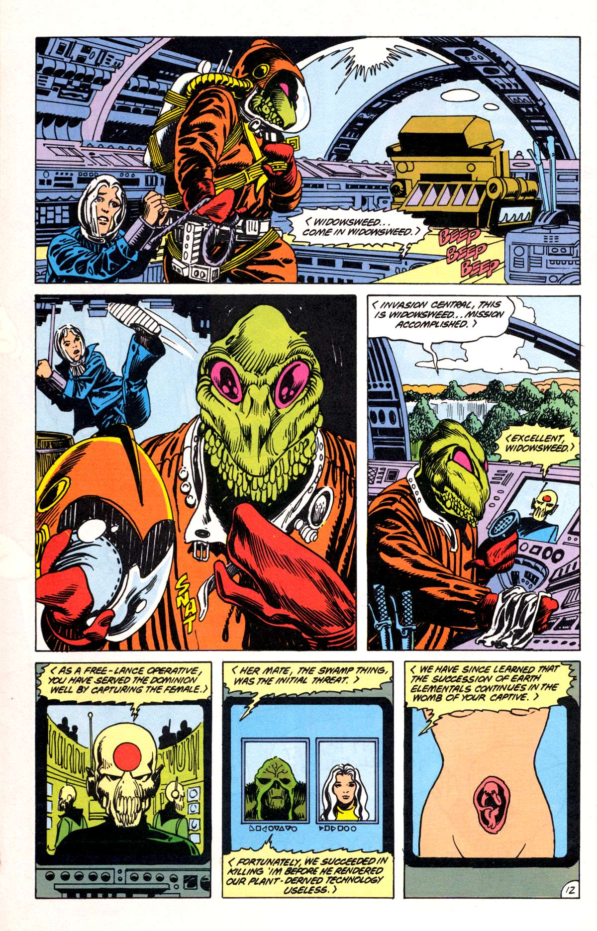 Swamp Thing (1982) Issue #81 #89 - English 13
