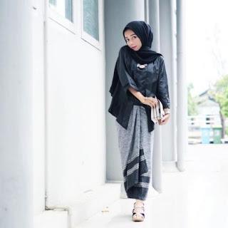 kebaya kutu baru hijab simple