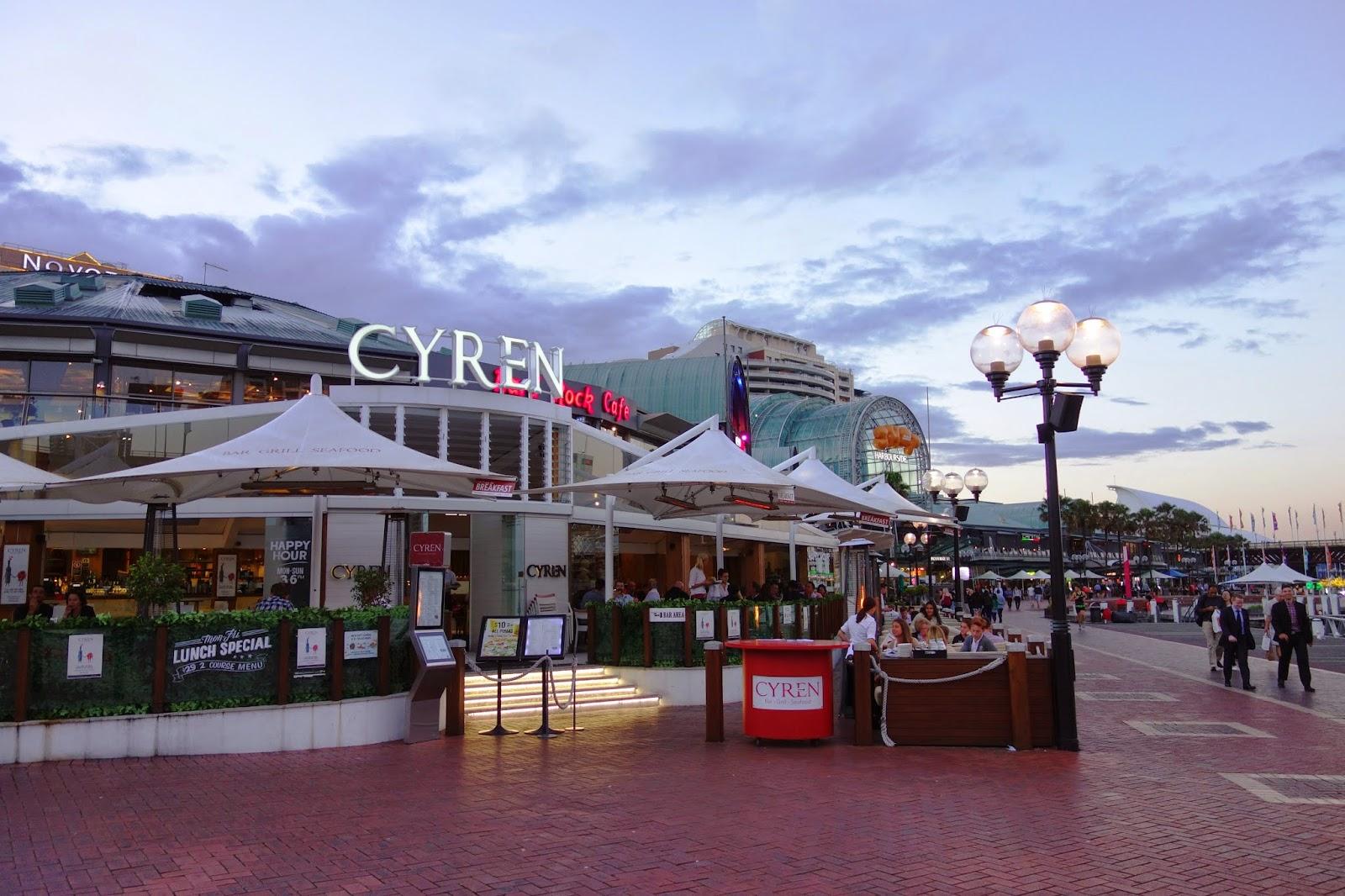 Cyren Seafood Restaurant Darling Harbour