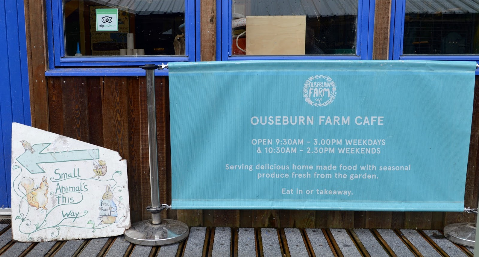 Ouseburn Farm Newcastle | A FREE Place to Take the Kids - cafes and small animals