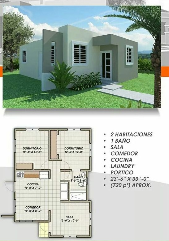 Are you looking for a small and comfortable home plan that is not only low-cost but also with beautiful design? If so, then you better look bellow for 33 house designs you may love to have for you and your family!   These houses come with a different design that will suit every kind of family big or small! So if you are looking for designs that will suit either in rural or urban areas, we are sure you can find one below in our compilation.
