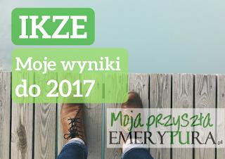 Wyniki IKZE od 2017