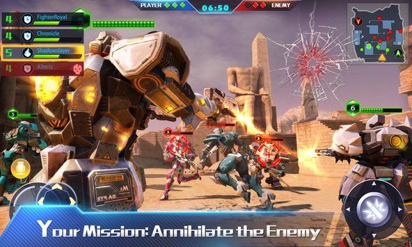 Download Techno Strike Mod Apk Unlimited Money