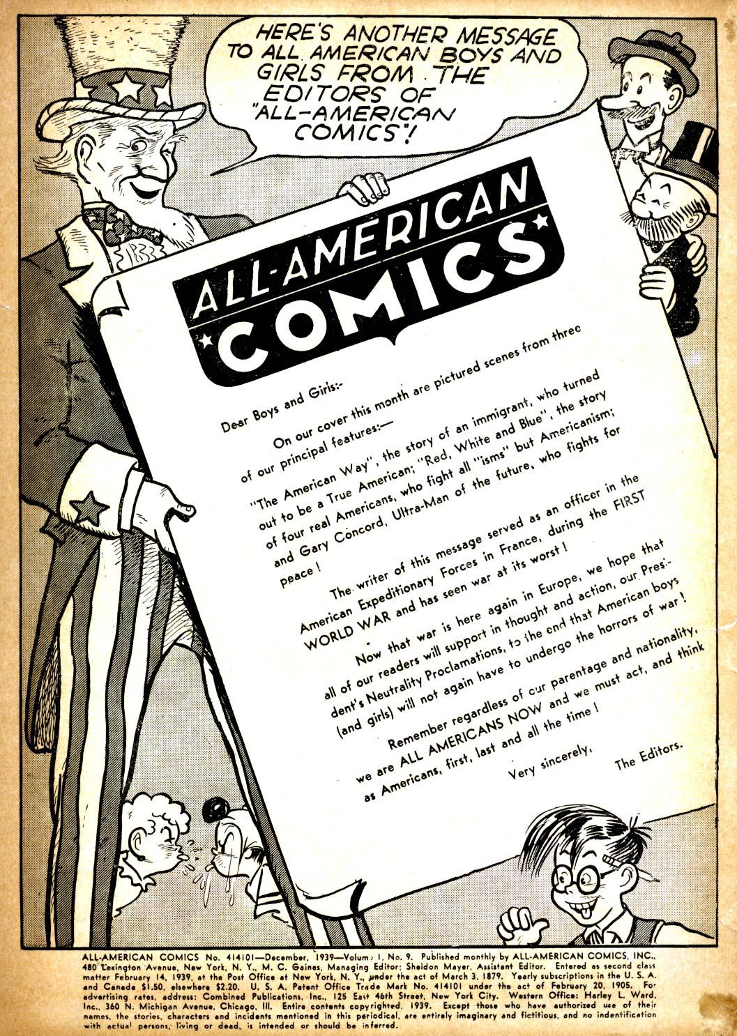 All-American Comics (1939) 9 Page 2