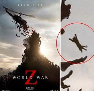 zombi kucing, world war z poster