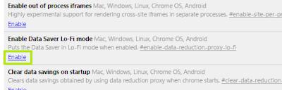 pengaturan flags pada Chrome