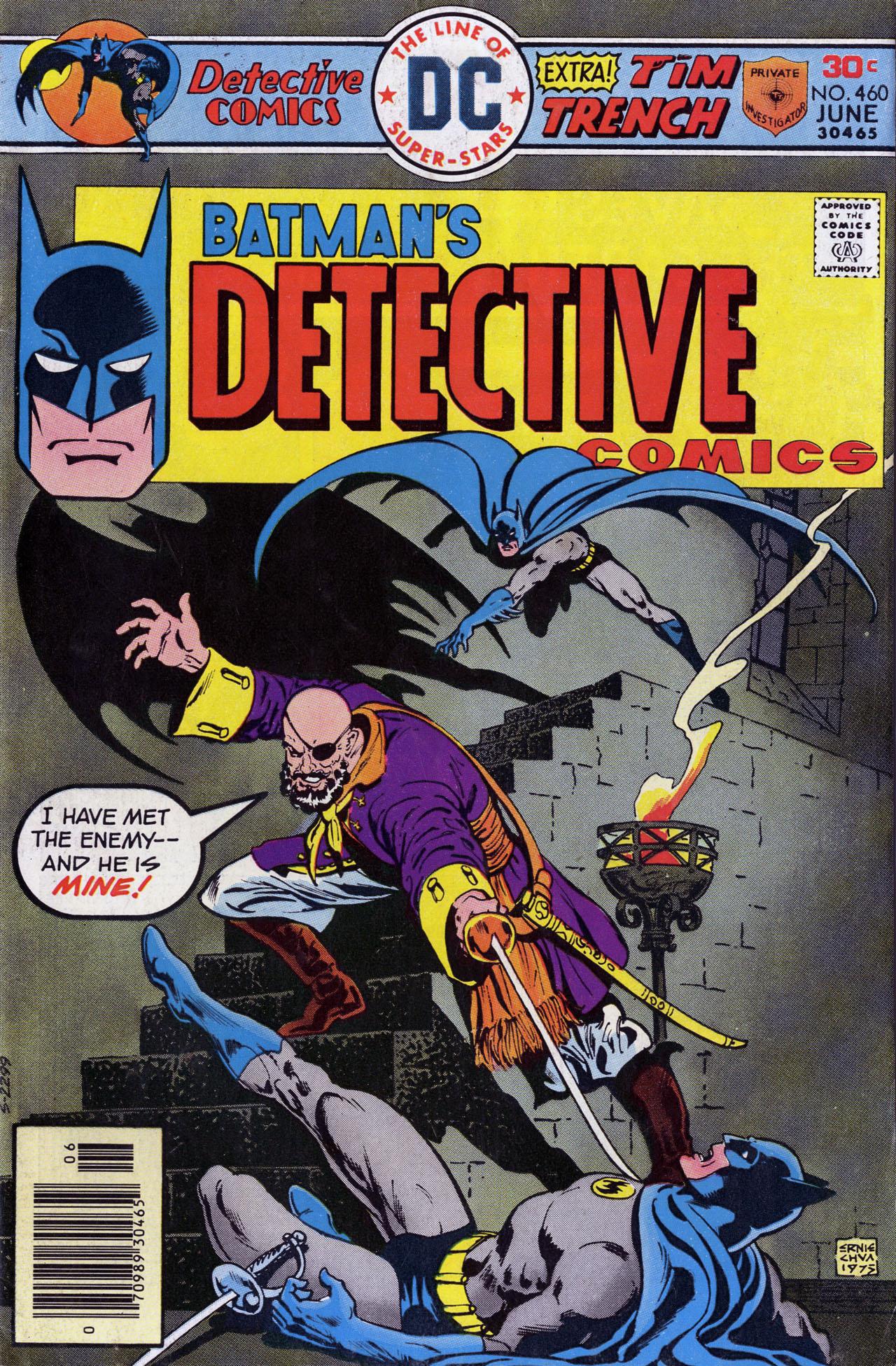 Detective Comics (1937) 460 Page 0